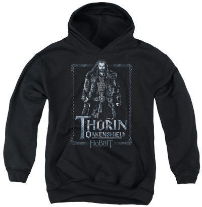 Youth Hoodie: The Hobbit - Thorin Stare