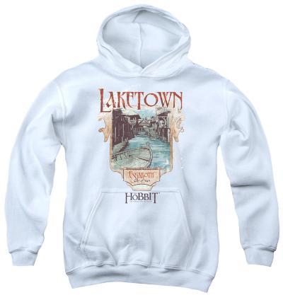 Youth Hoodie: The Hobbit - Laketown