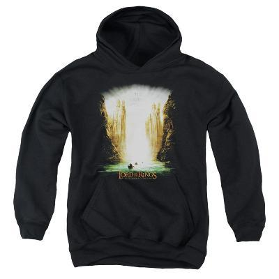 Youth Hoodie: Lord of the Rings - Kings Of Old