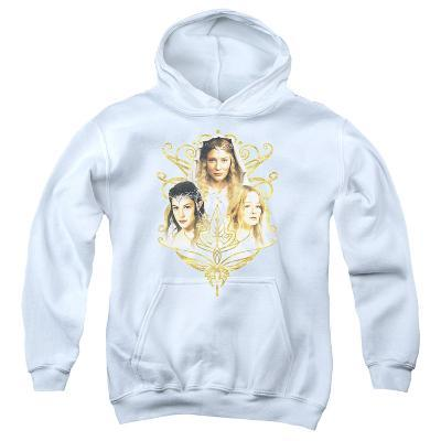 Youth Hoodie: Lord of the Rings - Women Of Middle Earth