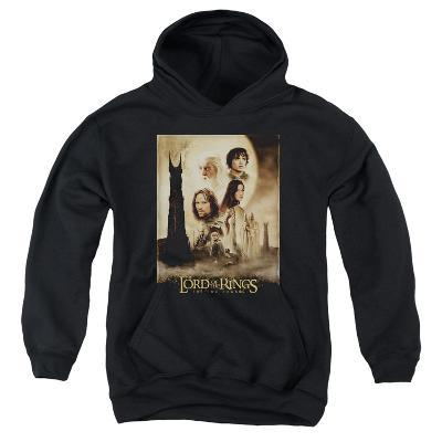 Youth Hoodie: Lord of the Rings - Two Towers Poster