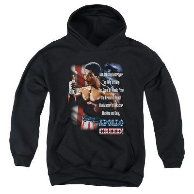 Youth Hoodie: Rocky II - The One And Only