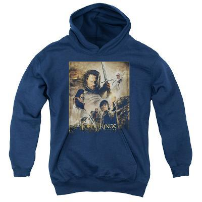 Youth Hoodie: Lord of the Rings - Return of the King Poster