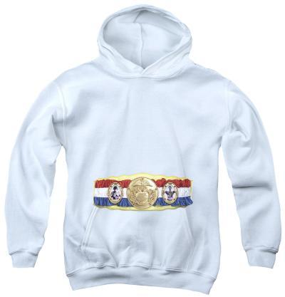 Youth Hoodie: Rocky - Championship Belt(Bottom Front)