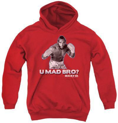 Youth Hoodie: Rocky - U Mad Bro