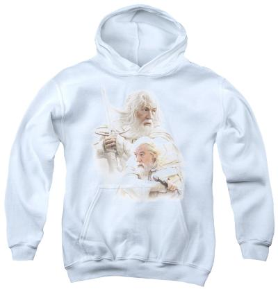 Youth Hoodie: Lord of the Rings - Gandalf The White