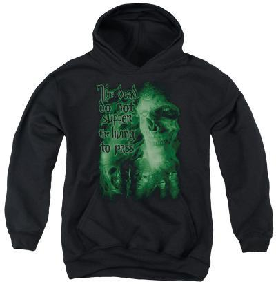 Youth Hoodie: Lord of the Rings - King Of The Dead