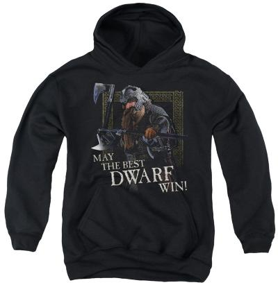Youth Hoodie: Lord of the Rings - The Best Dwarf