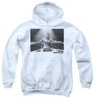 Youth Hoodie: Rocky III - Clubber Square
