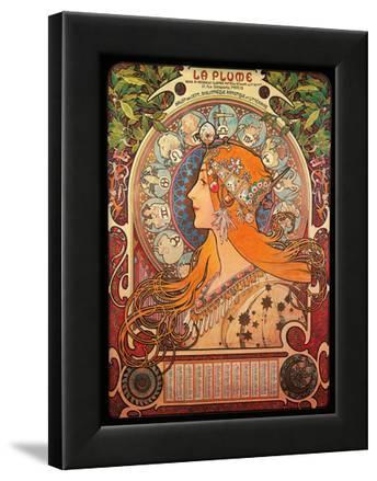 Calendar, Art Nouveau, La Belle Époque