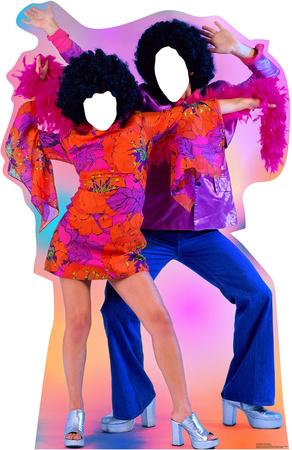 70's Dance Couple Stand In