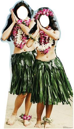 Hula Girls Stand In