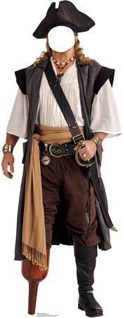 Pirate Peg Leg Stand In