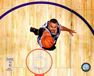 Tony Parker 2004-05 Playoff Action