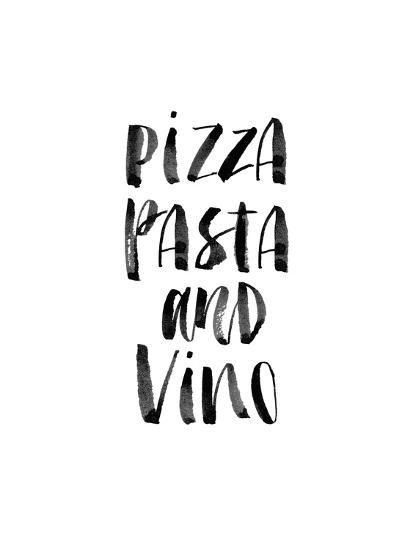 Pizza Pasta and Vino Print by Brett Wilson at AllPosters.com