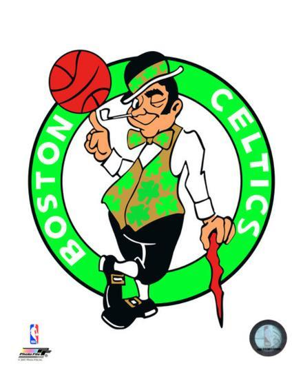Boston Celtics Logo Photo at AllPosters.com