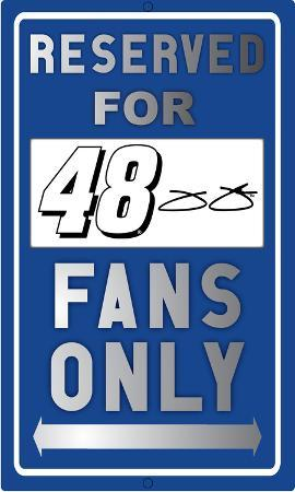 Jimmie Johnson Sign