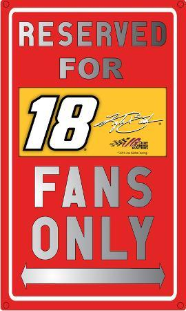 Kyle Busch Sign