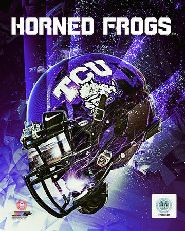 TCU Horned Frogs Helmet Composite