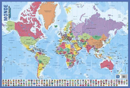 Carte Du Monde Map.Carte Du Monde
