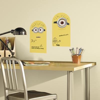 Minions Dry Erase Peel and Stick Wall Decals