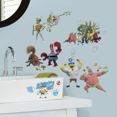 The Spongebob Movie Peel and Stick Wall Decals