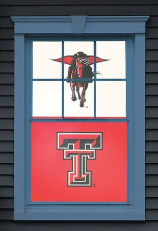 Texas Tech University The Masked Rider Dual WOWindow Poster