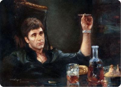 Scarface Portrait
