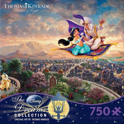 Thomas Kinkaid Disney Dreams - Aladdin 750 Piece Jigsaw Puzzle