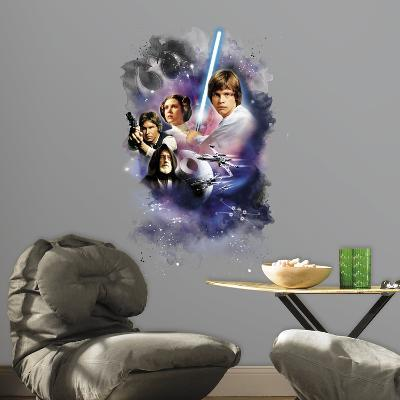 Star Wars Classic Mega Peel and Stick Giant Wall Decals
