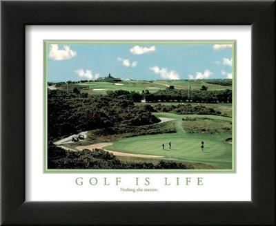 Golf is Life Nothing Else Matters Motivational