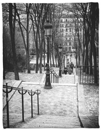 Staircase Montmartre - Paris - France