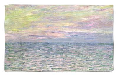 On the High Seas, Sunset at Pourville; Coucher De Soleil a Pourville, Pleine Mer, 1882