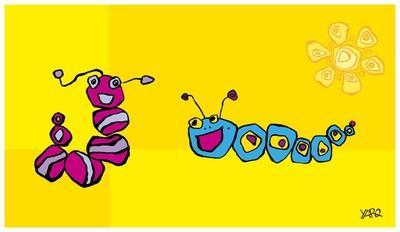 Caterpillar Friends