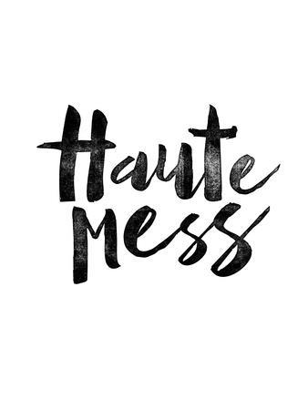 Haute Mess White