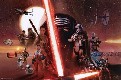 Star Wars The Force Awakens - Group
