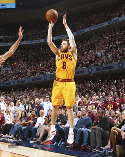 f8ab78736da Matthew Dellavedova Jump Shot in Game 3 of the NBA Finals Photo at  AllPosters.com
