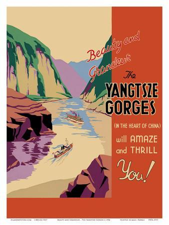 Beauty and Grandeur - The Yangtsze Gorges - (In the Heart of China) will Amaze and Thrill You!