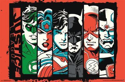 Justice League- Bars