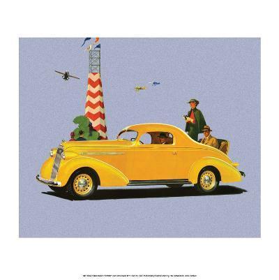 Studebaker Dictator, Vintage Car Advertising
