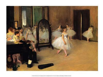 The Dance Class, 1871