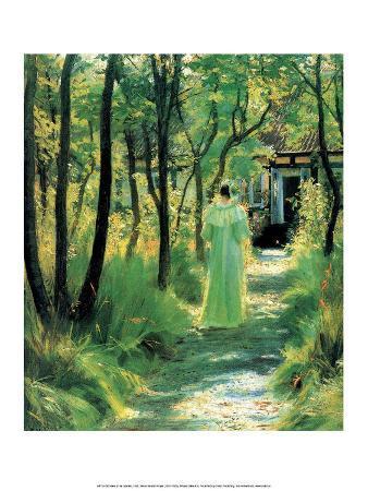 Marie in the Garden, 1895
