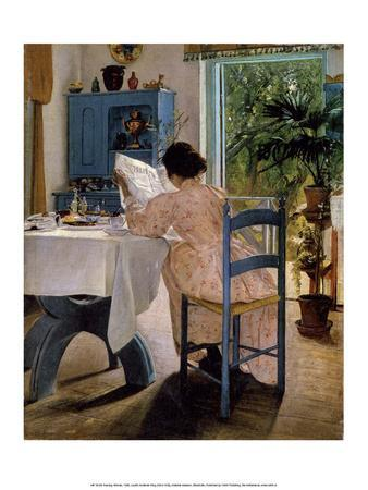 Reading Woman at Breakfast, 1898