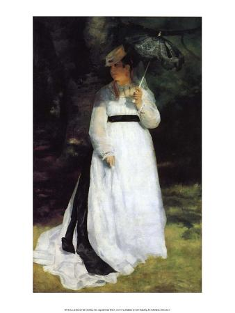 Woman with Umbrella, 1867