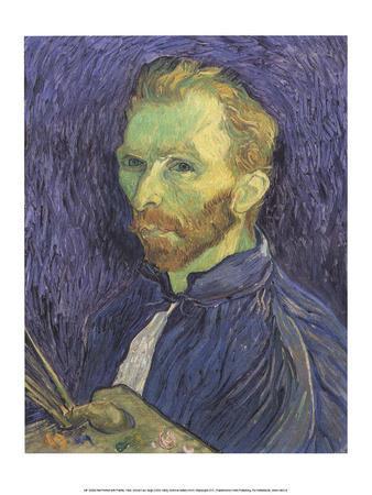 Self Portrait with Palette, 1889