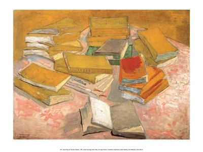 Still Life with Books, 1887