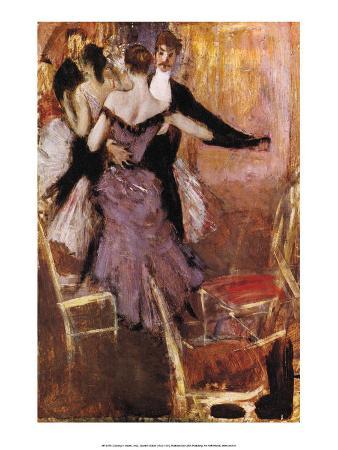 Dancing in Mauve, 1922