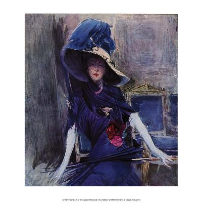 Woman in Blue, 1905