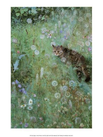 Jeppe in a Field of Flowers, 1884