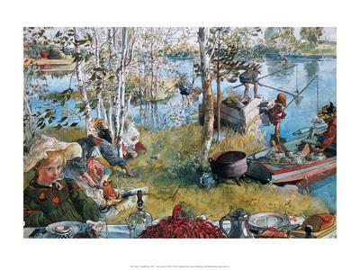 Crayfishing, 1897